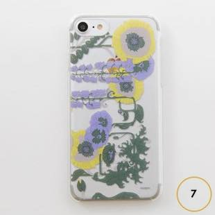 [マニプリコレクション]manipuri case collection lilybell Clear for iPhone 7