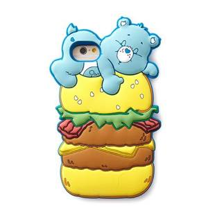 MERRY GADGET CareBears SILICONE ハンバーガー for iPhone 7/6s/6