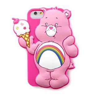 MERRY GADGET CareBears SILICONE アイス for iPhone 7/6s/6