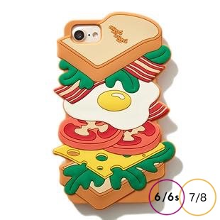[ウィグルウィグル]Sandwich SILICONE for iPhone8/7/6s/6