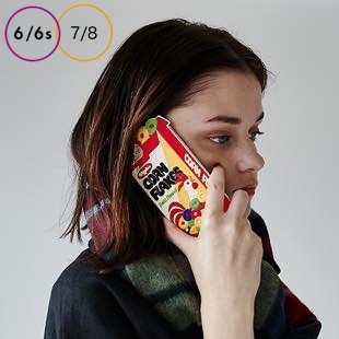 [ウィグルウィグル]Corn Flakes SILICONE for iPhone8/7/6s/6
