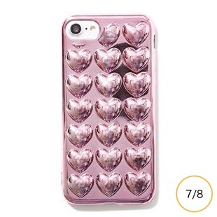 [メリーガジェット]HOLIC CASE Metallic Heart for iPhone8/7
