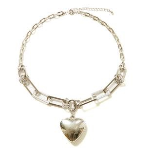 [ミラーユー]HEART chain necklace