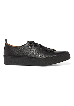 Fred Perry George Cox Tennis Shoes Scotch/Leather