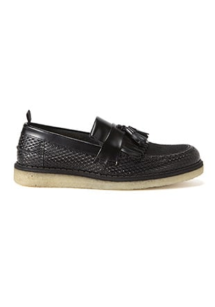 Fred Perry George Cox Tassel Loafer Perf  Leather