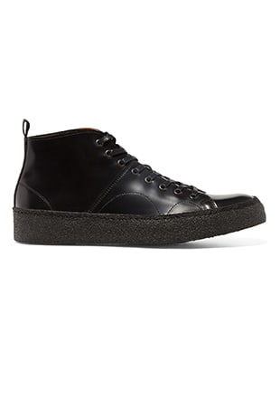 Fred Perry George Cox Creeper Mid  Leather