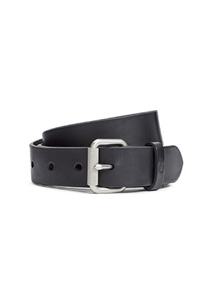 Made In England Narrow Leather Belt