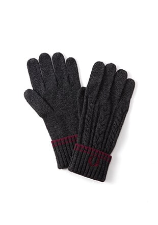 Tipped Cable Gloves