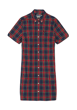 Reissues S / S Tartan Shirt Dress