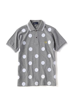 Flocking Polka Dot Shirt