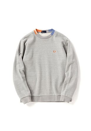 Jaquard Neck Sweat Shirt