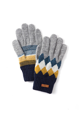 Argyle Gloves