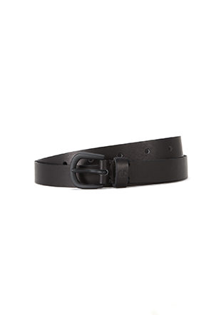 Leather Narrow Belt