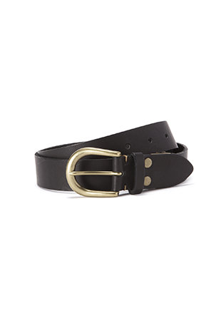 Leather Adjustable Belt