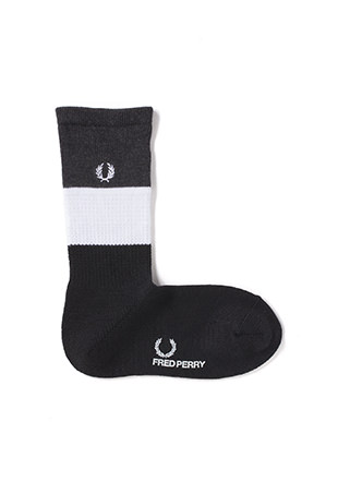 Monotone Middle Socks