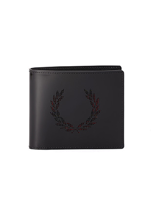 Laurel Wreath Leather Billfold