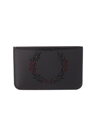 Laurel Wreath Leather Card Case