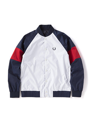 Reversible Bomber Track Jacket