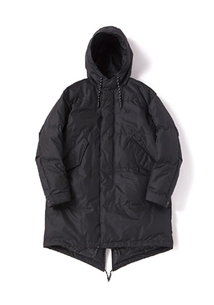 Down Fishtail Parka