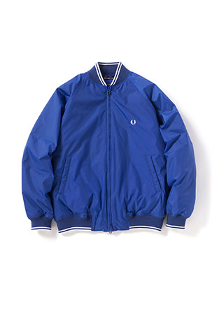 Down Bomber Neck Jacket