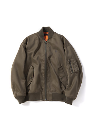 Laurel Leaf Dyed Military Blouson