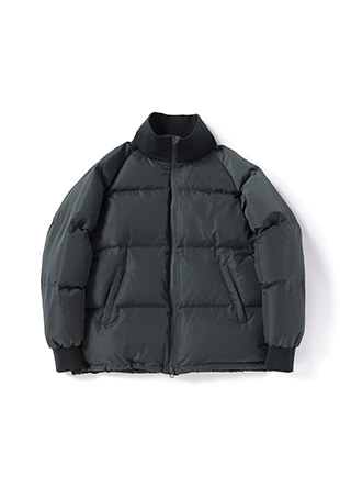 Rib Collar Down Jacket