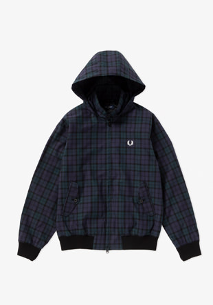 Hooded Harrington Jacket