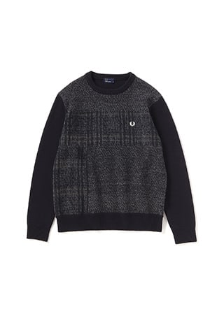 Mix Panel Sweater