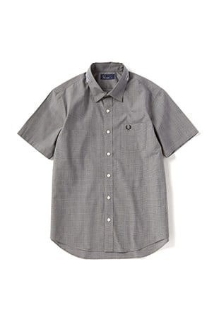 Collar Tape S / S Shirt