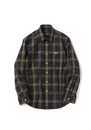 Laurel Leaf Dyed Tartan Shirt