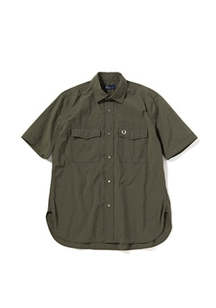 Laurel Leaf Dyed Military S / S Shirt