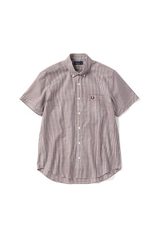 Regular Collar S / S Shirt