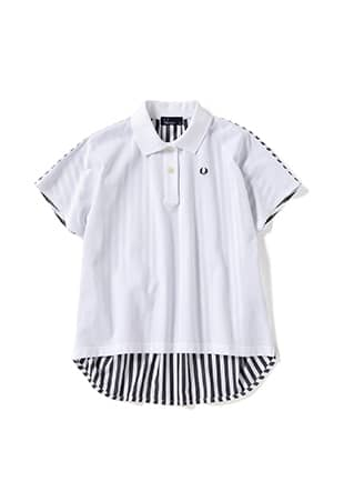 Back Stripe Pique Shirt