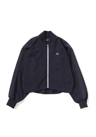 Gathered Back Bomber Jacket