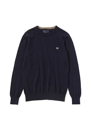 Tipped Crew Neck Sweater