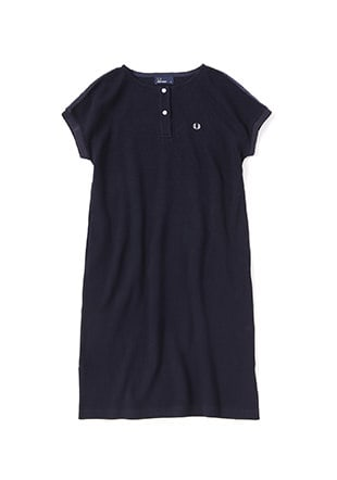 Henley Neckline Dress
