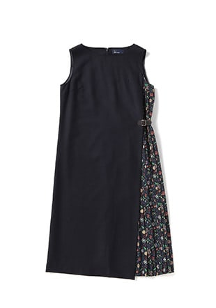 Liberty Side Pleated Dress