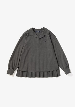 Pleated Back Woven Shirt