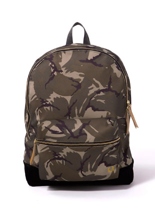 Pique Camo Print Backpack