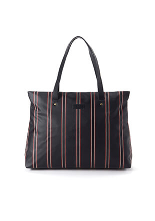 Regimental Stripe Tote Bag