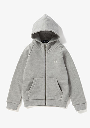 Kids Loopback Hooded Sweat