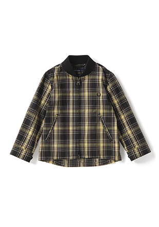 Kids Shirt Bomber Jacket