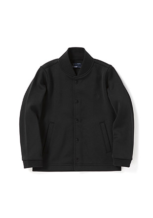 Kids Jersey Bomber Neck Jacket