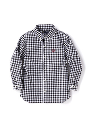 Kids Tipped Trim Oxford Shirt