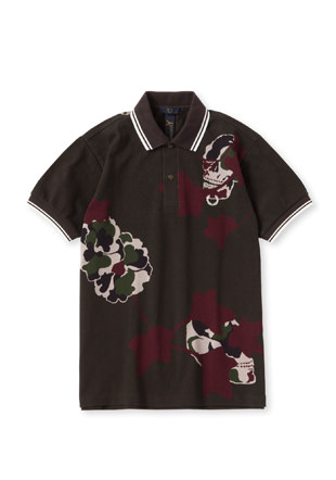 Ground Y × Fred Perry Skull Print Pique Shirt
