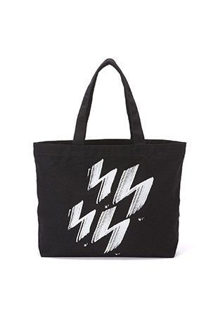 Ground Y × Fred Perry Graphic Tote Bag