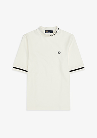 High Neck Fred Perry T-Shirt