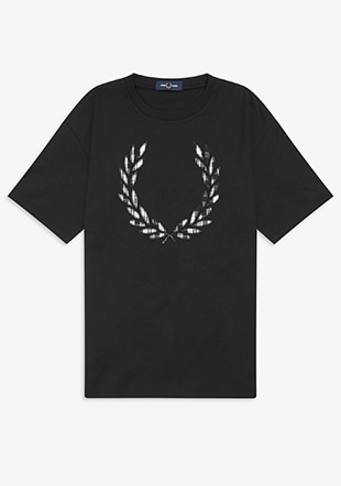 Tartan Laurel Wreath T-Shirt