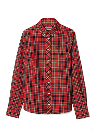 Reissues L/S Button Down Tartan Shirt