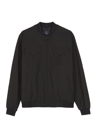 Laurel Wreath Tonal Tipped Bomber